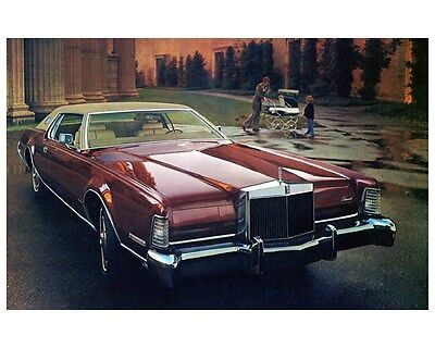 1973 Lincoln Continental Mark IV Factory Photo ca4158