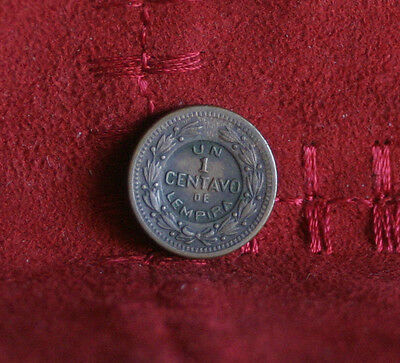 Honduras 1 Centavo 1935 Bronze World Coin KM77.1 Central America Lempira