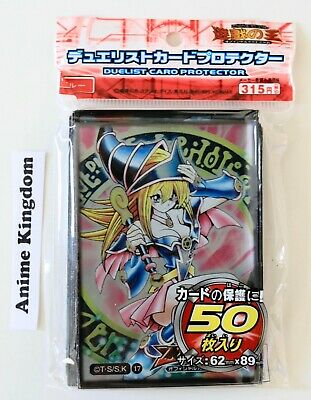 Anime Sleeves 50 x Holographic Sleeve card Protector Sexy Dark Magician Girl