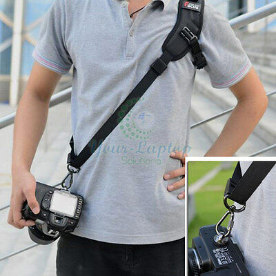 New Camera Sigal Shoulder Sling Belt Neck Strap For Nikon Canon DSLR