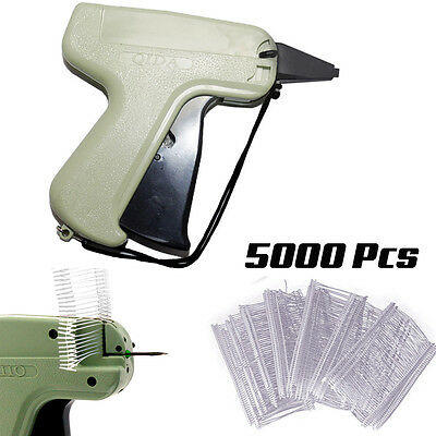Tagging Gun System 5000 Kimble Barbs Tag Label Steel Needle For Clothes Socks