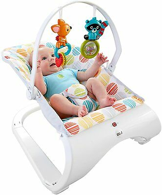 Fisher-Price Comfort Curve Bouncer (CFB88) FREE SHIPPING NEW CXX