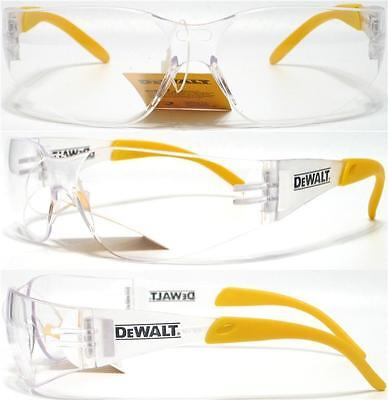 Dewalt Protector Clear Lens Safety Glasses Shatterproof Z87+