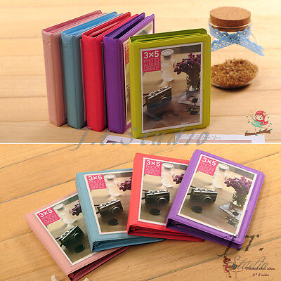 32 Pockets Wide Instant Mini Book Photo Album for Fujifilm Instax WIDE 210 Films