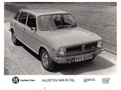 Austin Maxi HL circa 1975/76 original b/w Press Photo Pub. No. 259180