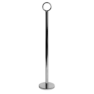 """Table Number Holders Card Place Name Menu Photo Holder Numbers 30cm (12"""") x12"""