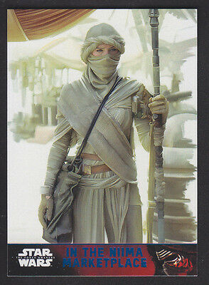 Topps Star Wars - The Force Awakens - Blue Parallel Card # 71