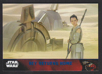 Topps Star Wars - The Force Awakens - Blue Parallel Card # 73