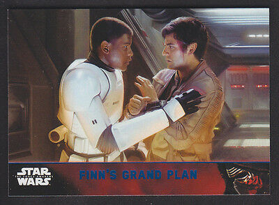 Topps Star Wars - The Force Awakens - Blue Parallel Card # 85