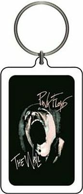 Pink Floyd - The Wall Scream - Plastic/lucite Keychain - Brand New - 0216