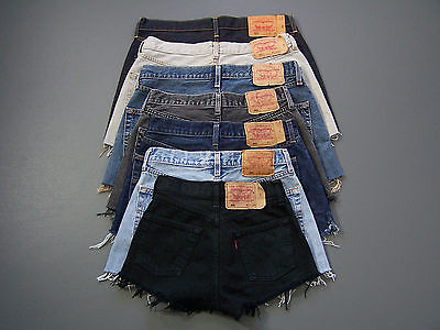 Levis 501 Jeans Shorts B Grade High Waisted vtg size 6 -20