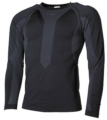 Fox Outdoor Thermo-Sport-Funktionsunterhemd langarm schwarz L 4044633128096
