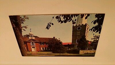 Vintage view - Historic Immanuel Protestant Episcopal Church in New Castle, DE