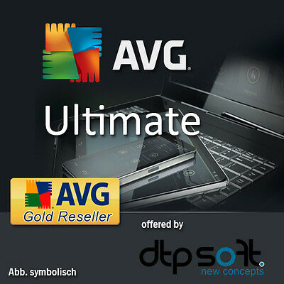 Avg Ultimate 2017 - Unlimited Devices - Windows, Mac, Android Avg 2016