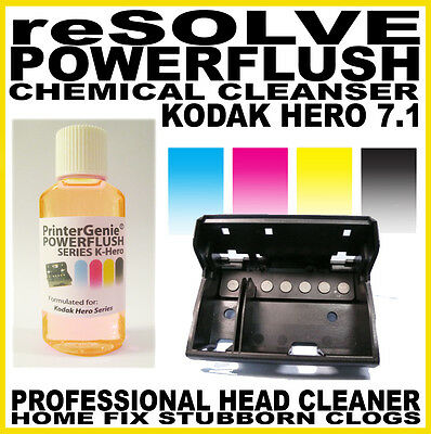 Printer Head Cleaning Kit: Kodak Hero 7.1 Compatible - Professional Nozzle Clean