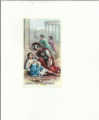 99625 Santino Holy Card Sanctus Tarcisius