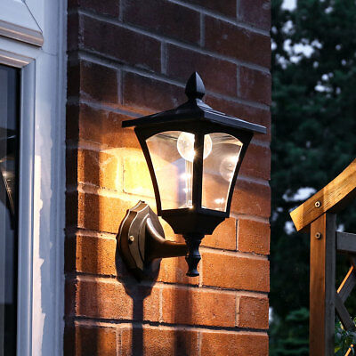Solar Powered Outdoor Garden Driveway Outside Security Flood Lantern Spot Light