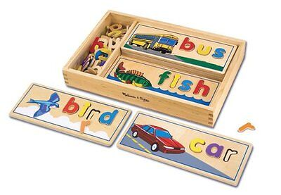 Melissa & Doug See & Spell by Flair Develop a sight-reading vocabulary NEW