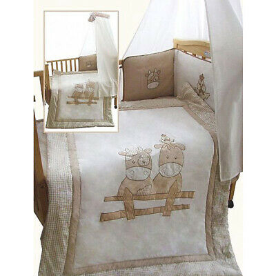 Snuggle Baby Cow 3 Piece 4 Tog Quilt Bedding Bale, Cot/Cot Bed