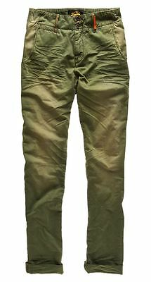 New Mens Superdry Corporal Utility Pants Trousers Military Green
