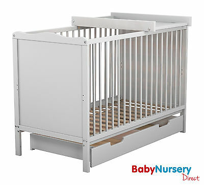 FROM £49.99 Bella Classic Cot Bed Cotbed & Rollaway Drawer & Changer & Mattress