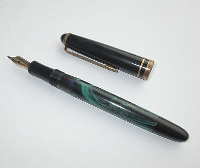 1960's VINTAGE COLLECTIBLE RUSSIAN PELIKAN DIVERSION FOUNTAIN PEN VICTORY 63