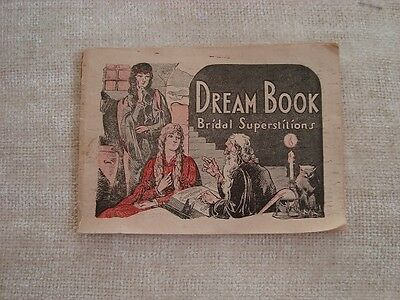 vintage dream book and bridal superstitions by V.M. Pierce M.D.