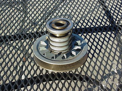 "Variable Speed Reeves Type Pulley, Spring Loaded, 4.7"" O.D. (120mm)"