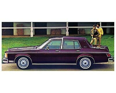 1979 Ford Lincoln Versailles Factory Photo ca4186