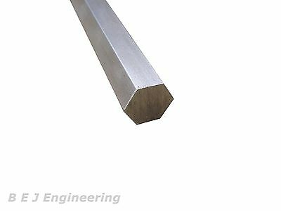 "Bright Mild Steel Hexagon Bar 5/8"" A/F x 250mm EN1A-Pb - Hexagonal"