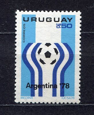 s5472) URUGUAY 1975 MNH** World Cup Football - Coppa del Mondo Calcio 1v.