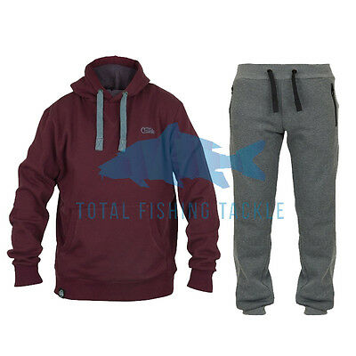 Fox NEW Carp Fishing Chunk Burgundy Hoody & Trouser Clothing Combo *All Sizes*