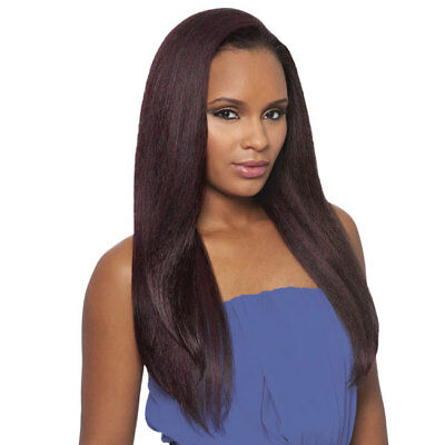 Dominican Blowout Straight Bundle Hair - Outre Batik Quick Weave Half Wig