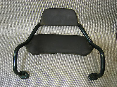 Piaggio Hexagon 250 GT Rear Seat Back Rest Grab Rails