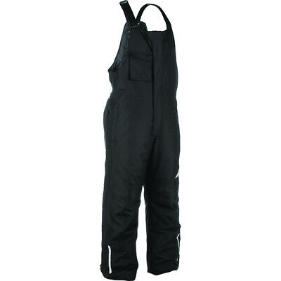 Men's FLY Racing Aurora Snowmobile Bibs Winter Snow Bib Pants Black Weatherproof