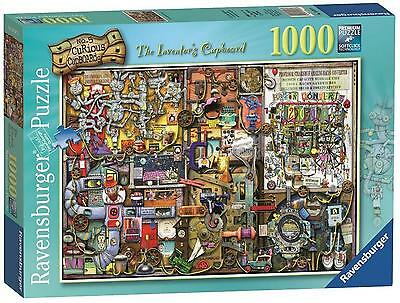 Ravensburger Colin Thompson, The Inventor's Cupboard, 1000 Piece Jigsaw NEW