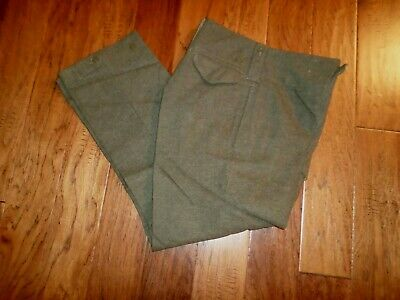 Wwii British Military Wool Pants Maritime Pant Co Vintage Post War