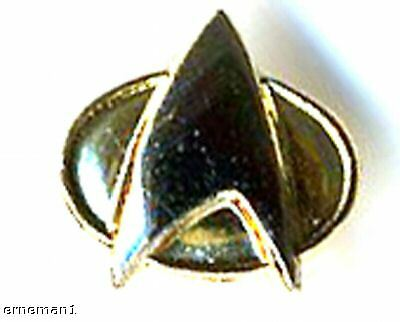 Next Generation STAR TREK Communicator Pin miniatur ovp. Rarität