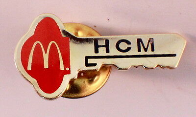 Mcdonalds Collector Hat Lapel Pin Hcm Key