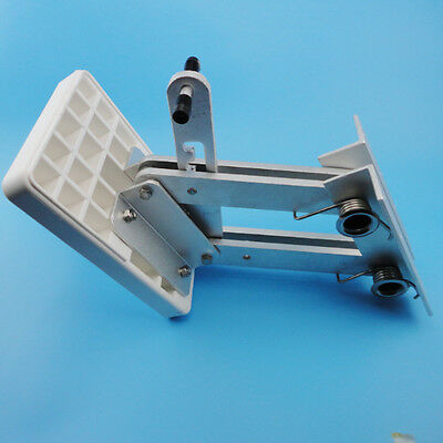 White Motor Bracket  Heavy Duty Aluminum Outboard 2 Stroke Kicker7.5hp-20hp