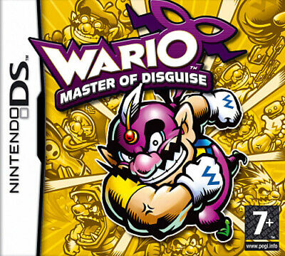 Wario: Master of Disguise (DS) PEGI 7+ Platform Expertly Refurbished Product