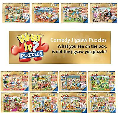 Ravensburger - What If? Jigsaw Puzzles. NEW