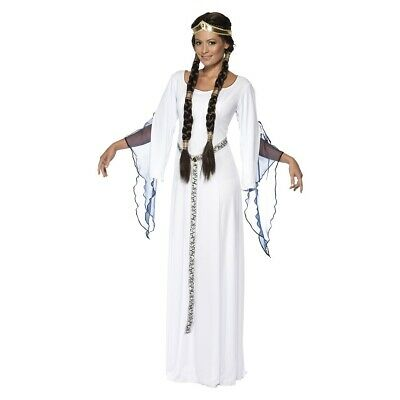 Medieval Maid Costume Halloween Fancy Dress