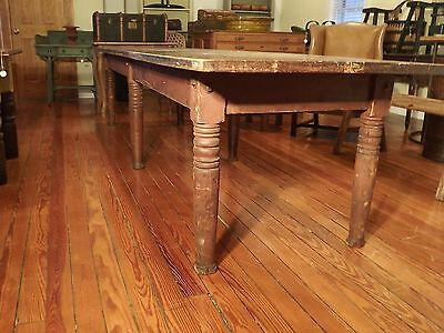 Antique Totally Original Farm Table!!!!!!!!!!!!!!!!!!!!!!!!