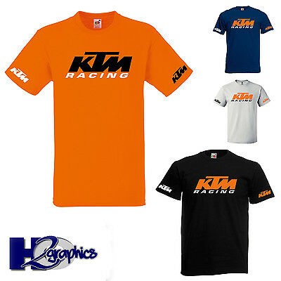 Ktm Racing Motorcycle Motorbike Tribute T Shirt Choice Of Colours All Sizes