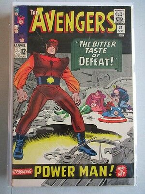 Avengers Vol. 1 (1963-2004) #21 FN+ 1st Power Man