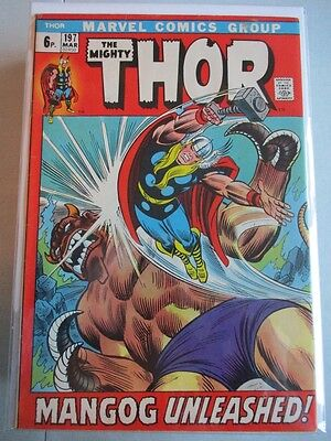 Mighty Thor Vol. 1 (1966-2011) #197 VF UK Price Variant