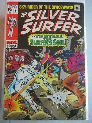 Silver Surfer Vol. 1 (1968-1970) #9 FN+ (Stamp on Front & Back Cover)