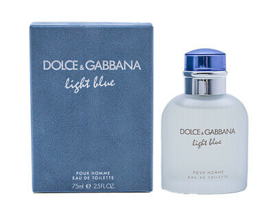 Light Blue by Dolce & Gabbana 2.5 oz EDT Cologne for Men New In Box