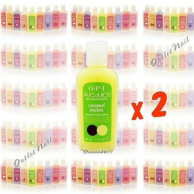 LOT 2 OPI Avojuice Lotion 30ml 1oz Skin Quencher Lotions Set >> PICK Any Scents